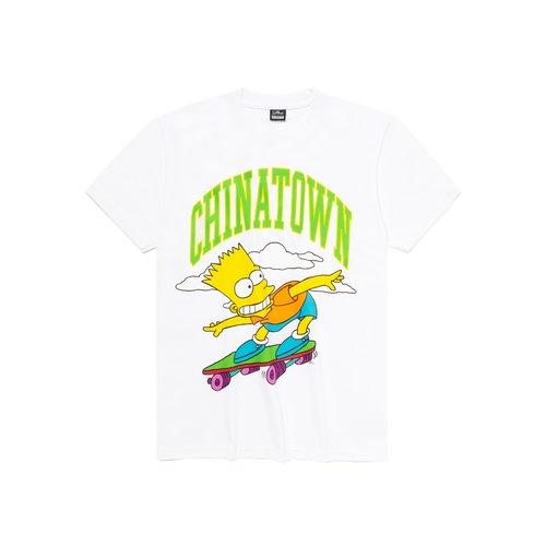 X The Simpsons Cowabunga Arc Tee White CTM1990345 1201
