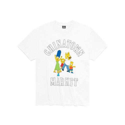 X The Simpsons Family OG Tee White CTM1990346 1201