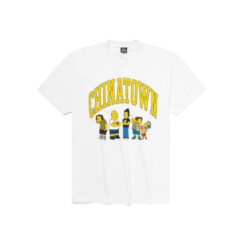 X The Simpsons Ha Ha Arc Tee White  CTM1990350 1201