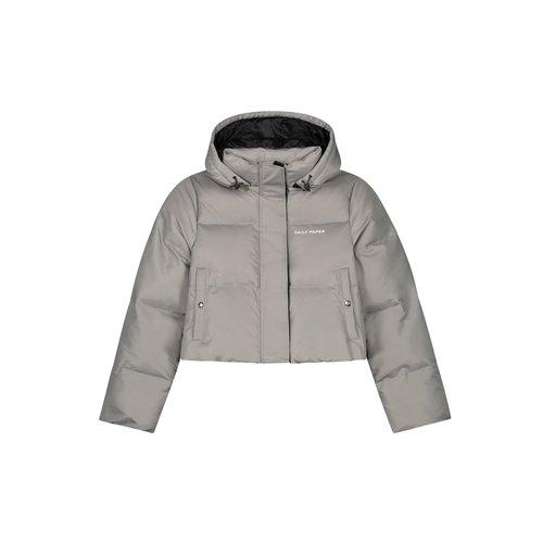 Epuffa Cropped Grey Weather 2122035