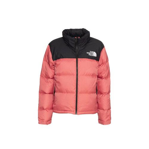 W 1996 Retro Nuptse Jacket Faded Rose NF0A3XEOUBG