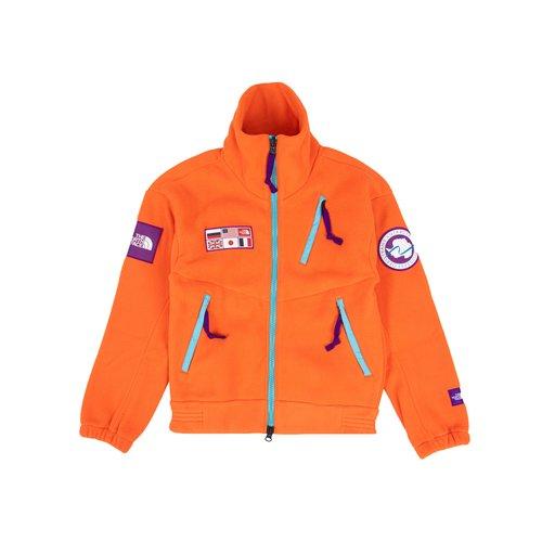 Tae Fleece Vest Red Orange NF0A5GF1A6M