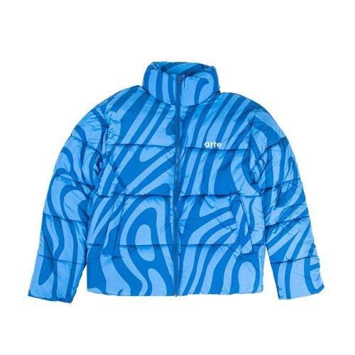 Joey Psych Puffer Jacket Blue Navy AW21 097J