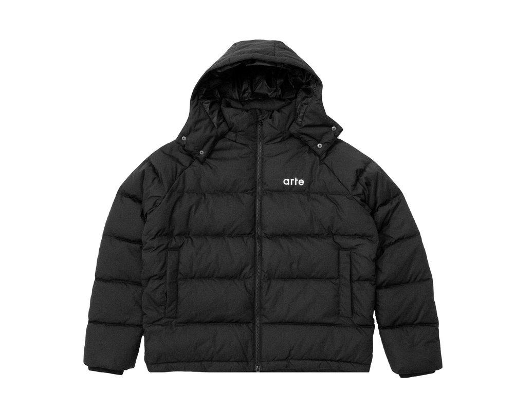 Arte Antwerp Joey Puffer Jacket Black AW21 113J