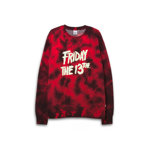 X Friday The 13th Crewneck Red Black VN0A53XGZPL