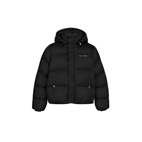 Hopuff Monogram Jacket Black 2123049