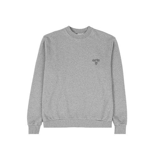 Cassat Heart Logo Sweater Grey AW21 084C