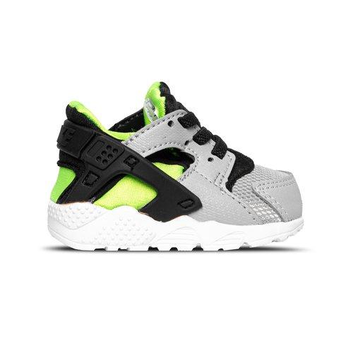 Huarache Run TD Wolf Grey Black Electric Green 704950 015