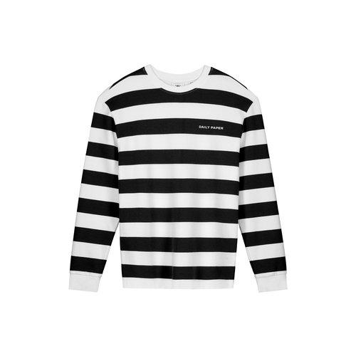 Pith Stripe LS Black White 2021106 41
