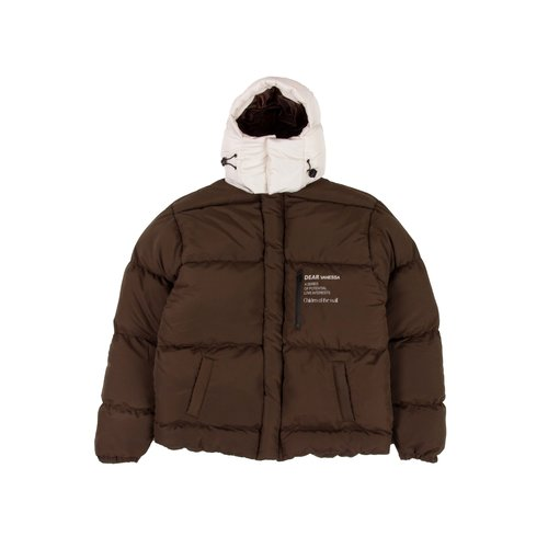 Heizung Jacket Brown Cloud White AW2021032