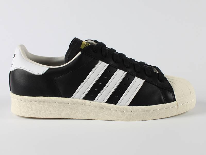Adidas Adidas Superstar 80s Premium BlackWhite