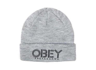 Obey Freestyle Beanie Grey