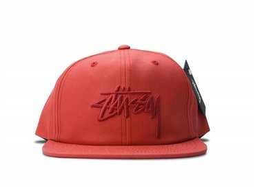Stussy Stock Pigment Cap Red