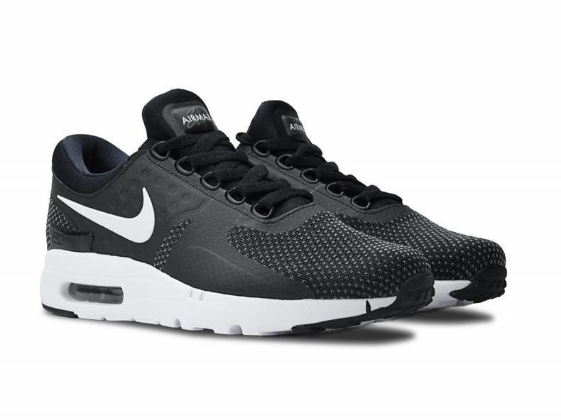 Nike Air Max Zero Essential Black White Dark Grey 876070 004 - Bruut ... 182f0e026