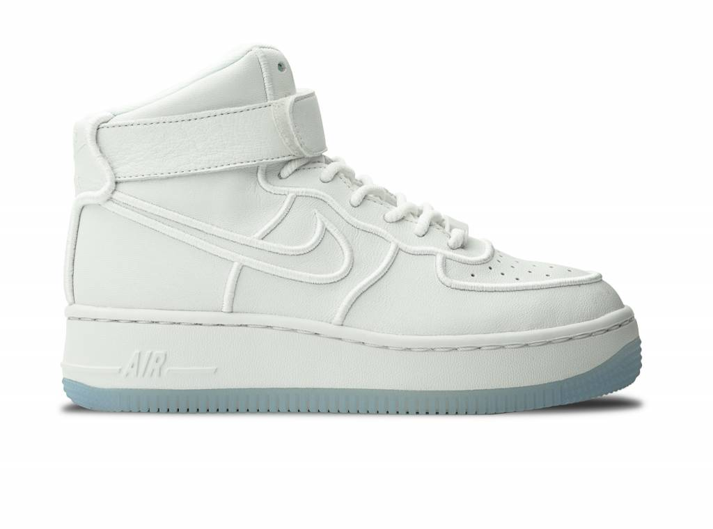 newest collection 02da2 12e14 WMNS Air Force 1 Upstep Hi Si Summit white/Summit White 881096 100 is  toegevoegd aan uw winkelwagen