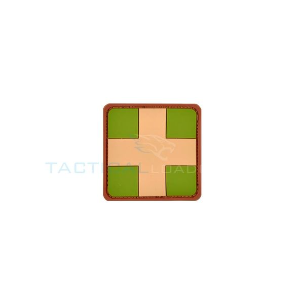 Jackets to Go Medic Red Cross PVC Patch Multicam
