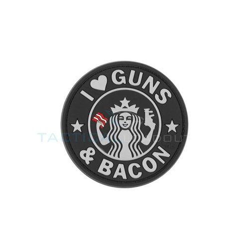 Jackets to Go Guns and Bacon PVC Patch Swat