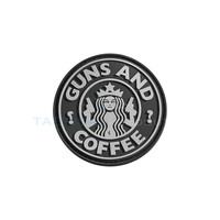 Jackets to Go Guns and Coffee PVC Patch Swat