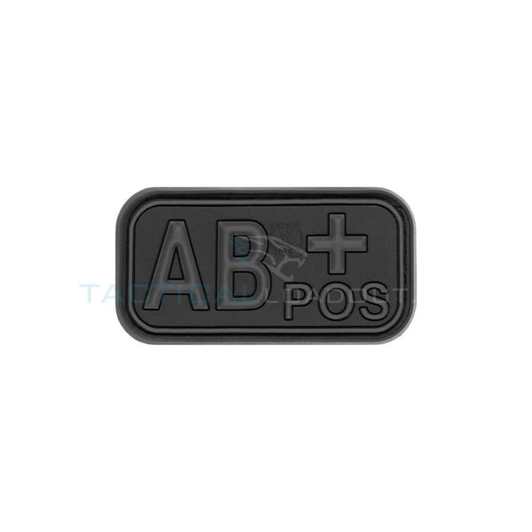 Jackets to Go AB-Positive Blood Type PVC Patch Blackops