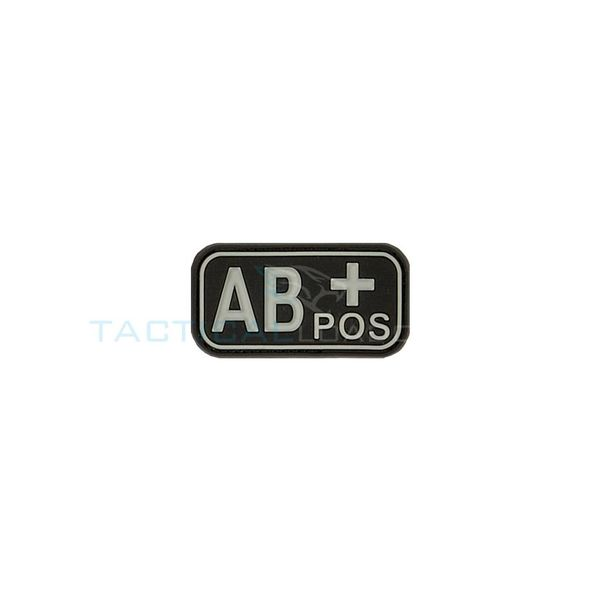 Jackets to Go AB-Positive Blood Type PVC Patch Swat