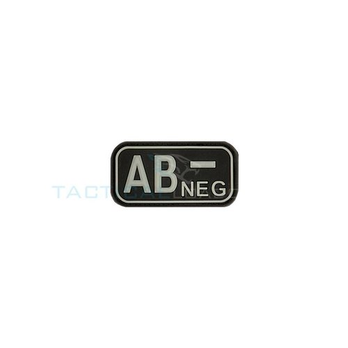 Jackets to Go AB-Negative Blood Type PVC Patch Glow in the Dark