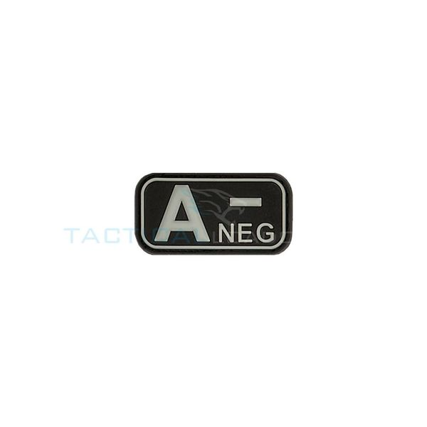 Jackets to Go A-Negative Blood Type PVC Patch Swat