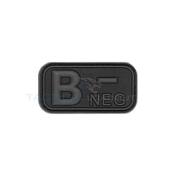 Jackets to Go B-Negative Blood Type PVC Patch Blackops