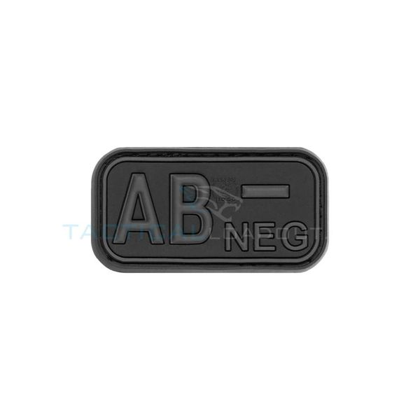 Jackets to Go AB-Negative Blood Type PVC Patch Blackops