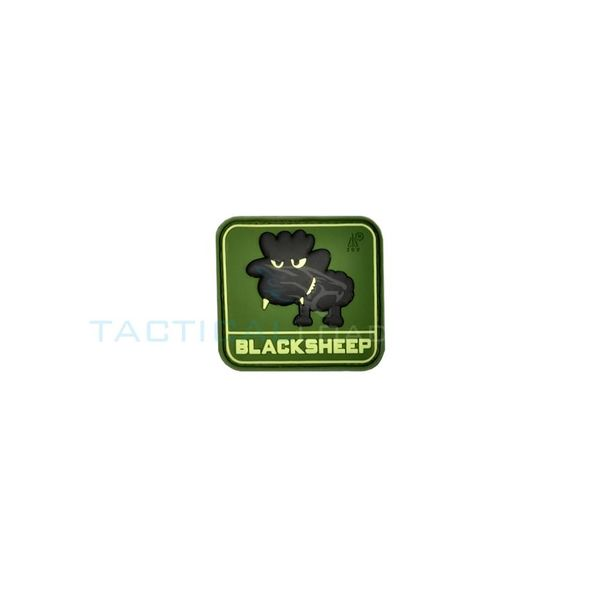Jackets to Go Black Sheep PVC Patch Forest