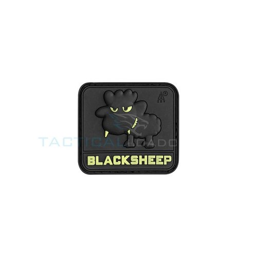 Jackets to Go Black Sheep PVC Patch Glow In The Dark