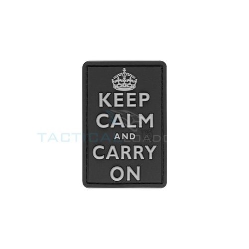 JTG Keep Calm PVC Patch Swat