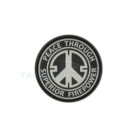 Jackets to Go Peace Firepower PVC Patch Swat