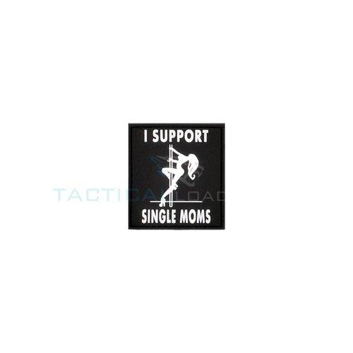 Jackets to Go JTG I Support Single Moms PVC Patch