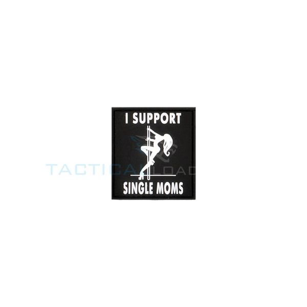 Jackets to Go I Support Single Moms PVC Patch