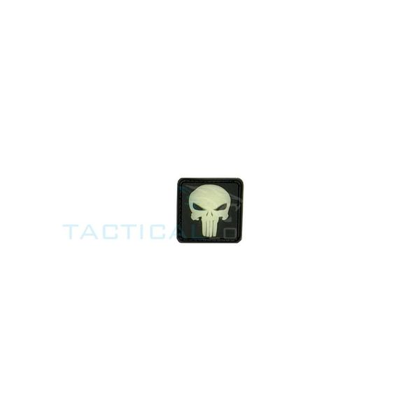 Jackets to Go Punisher PVC Patch Glow in the Dark