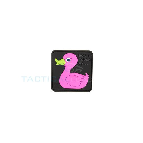 Jackets to Go Tactical Rubber Duck PVC Patch Pink