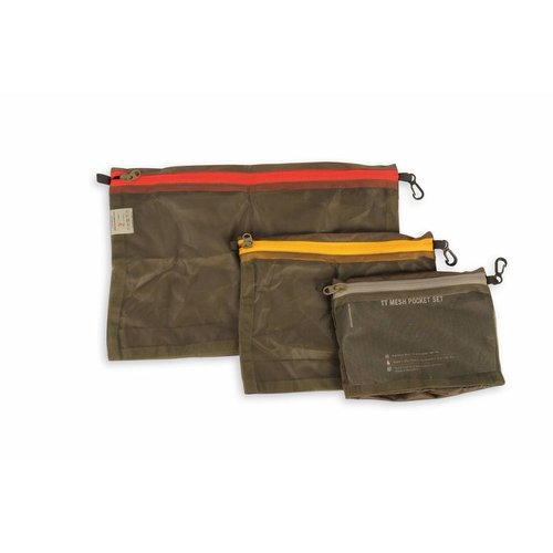 Tasmanian Tiger TT Mesh Pocket Set Olive