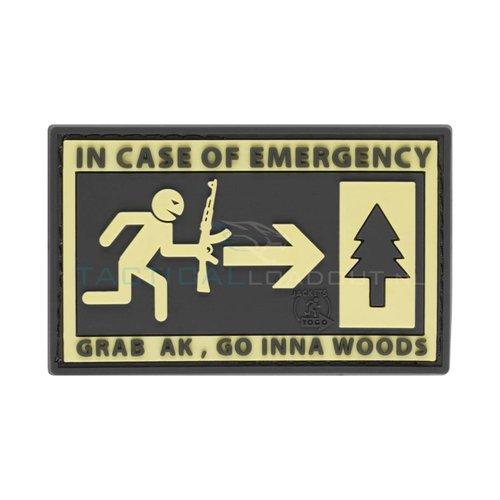 Jackets to Go JTG Emergency PVC Patch