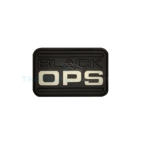 Jackets to Go Black OPS PVC Patch Glow in the Dark
