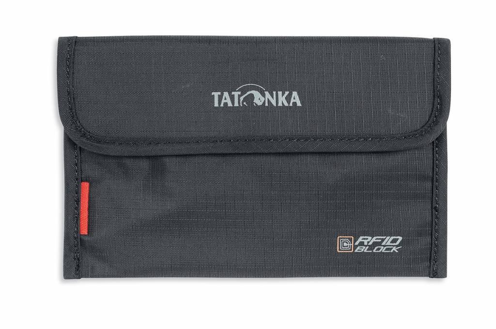 7f8bbb4d57b Tatonka Portemonnee Travel Folder RFID Block Zwart - Gear Point