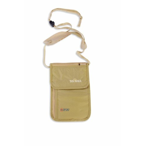 Tatonka Skin Neck Pouch RFID Block Natural