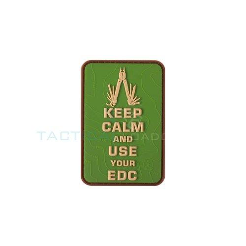 Jackets to Go JTG Keep Calm EDC PVC Patch Multicam