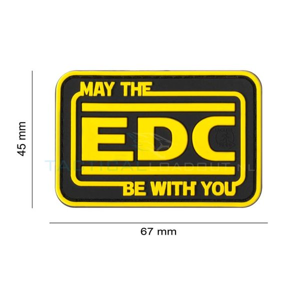 Jackets to Go May The EDC Be With You PVC Patch