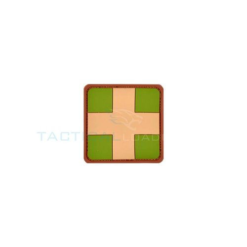 Jackets to Go Red Cross PVC Patch Small Multicam