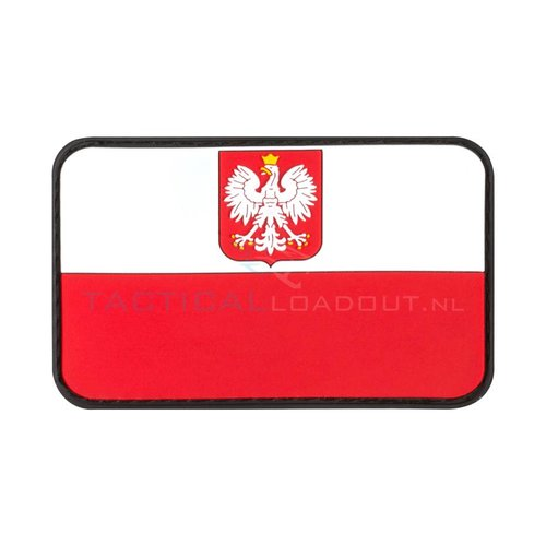 Jackets to Go Poolse Vlag PVC Patch