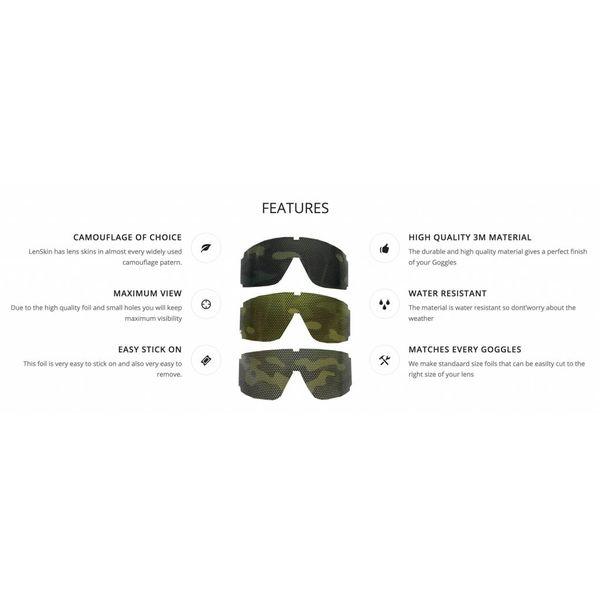 Varicam Camo Folie voor Goggles