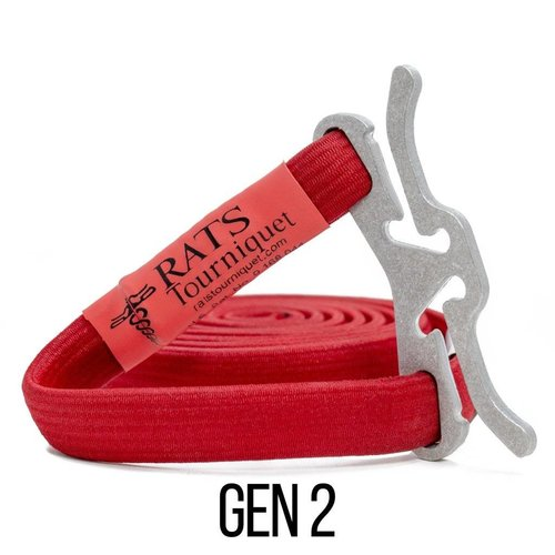 RATS Medical Gen2 Tourniquet Rood