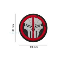 Jackets to Go JTG Deathpool Skull PVC Patch