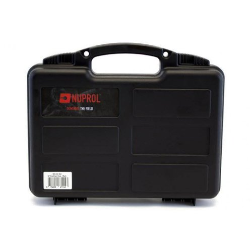 Nuprol Wapenkoffer Kunststof 30x20x7cm Zwart
