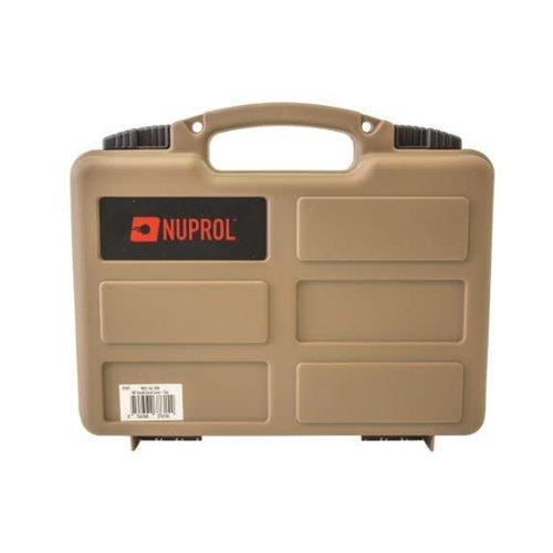 Nuprol Wapenkoffer Kunststof 30x20x7cm Tan